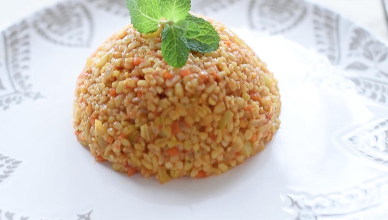 Pilaf turcesc (din bulgur)