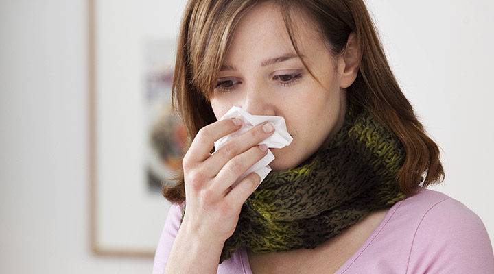 Remedii naturale pentru nas infundat